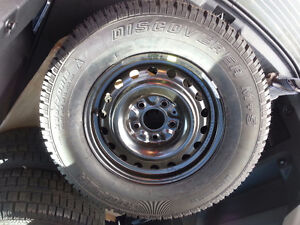 New winter rims and tires London Ontario image 1