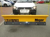 2014 64 Mitsubishi L200 2.5DI-D CR 4WD 4Life SNOW PLOUGH AND GRITTER