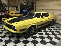 1973 mustang mach 1 for sale