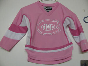 MONTREAL CANADIENS YOUTH/ADULT FEMALE REEBOK HOCKEY JERSEY NWT