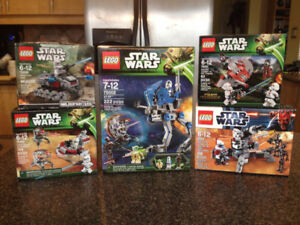 LEGO STAR WARS Collection – Brand New in the Box – For Sale
