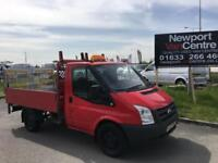 Ford Transit 2.4TDCi Duratorq 100PS 300S SWB DROP SIDE WITH TAIL LIFT NO VAT !!