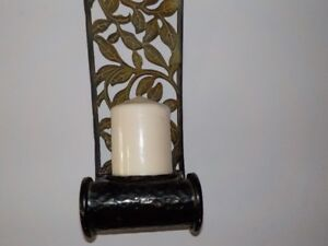 Beautiful Modern Chic wall décor candle holder