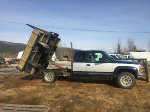 FOR SALE: 1995 Chev Turbo Diesel tiltdeck