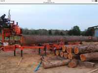 Portable sawmill to hire