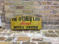 Vintage Pub sign