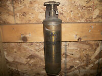 1920's Brass Fire extinguishers
