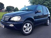 Mercedes-Benz M Class 2.7 ML270 CDI 5dr Blue, Mot Jan 17, Xenons, Full Leather Heated Seats