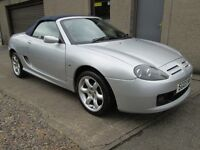 MG TF 135 COOL BLUE - CAR NOW SOLD - (silver) 2003