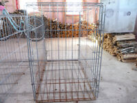 Wire dog crates for sale