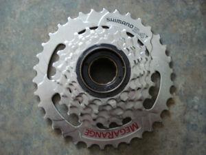 Shimano 6 sp 34T Megarange Freewheel - BRAND NEW