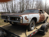 PARTING OUT: 1974 Dodge Charger SE