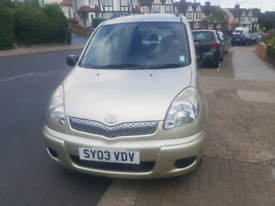Quick sell 2003 Toyota Verso manual diesel 1.3