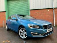 2014 (14) Volvo V60 1.6TD D2 ( 115bhp ) ( s/s ) SE Lux 66,000 MILES UK DELIVERY