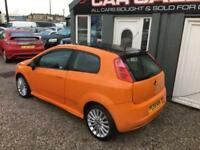 FIAT GRANDE PUNTO 1.4 SPORTING T-JET 16V (120BHP) 3 DOOR FINANCE PX WELCOME??