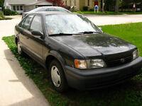 1999 Toyota Tercel CE Sedan