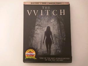 The Witch exclusive steelbook bluray/DVD/digitalHD MINT