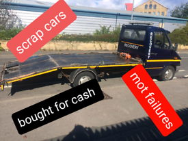 Recovery and scrap cars