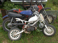 3 dirtbikes willing to trade for anything!