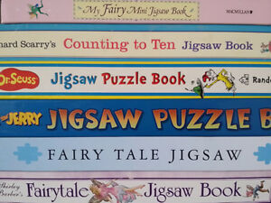 ▀▄▀ 7 Jigsaw Puzzle Books