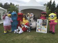 Montreal Mascotte - Fête d'enfant - Animation - CPE - Garderie