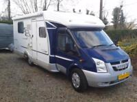 Hymer Tramp, Highly Recommended, 2008, Rear Fixed Bed, Sleeps 2, 4 Belts