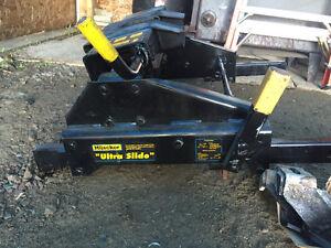 Hijacker double pivot 5th wheel hitch