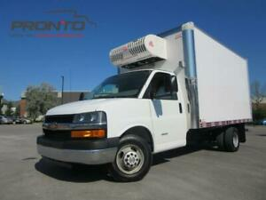 2015 Chevrolet Express 3500 4500 Cube 14 pieds ** Reefer ** Isol