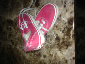 Chaussures Vans rouge