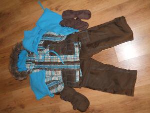 Habit de neige pour garçon 2 ans