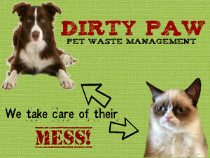 Spring Yard Clean-up. PTBO's pet waste pro's