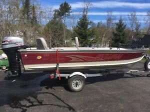 16 foot Sylvan Sport Troller Fishing Boat