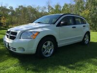 2008 DODGE CALIBER, SXT,5 SPD, MANUEL, LOW KMS