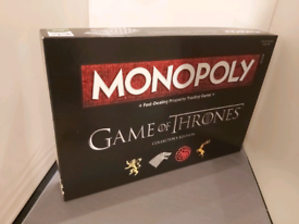 Game of Thrones collectors' edition of Monopoly
