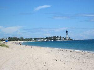 Bord de mer, Pompano Beach  disponible mai a novembre 2019
