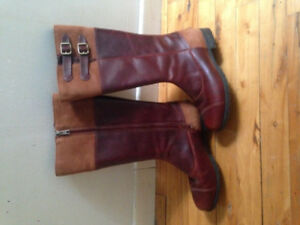 NEW - Women's Ugg leather fall boots (size 8)