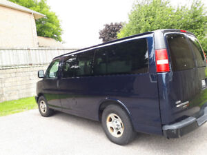 Wheelchair Van For Sale - Lift Gate Installed in the back