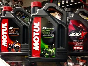 MOTUL 5100 4T SYNTHETIC BLEND 10W40 MOTORCYCLE OIL ON SALE NOW