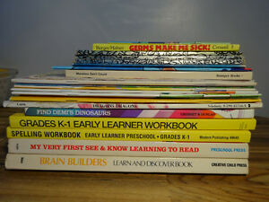 24 English Children's reading and learning books