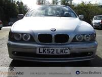 BMW 5 SERIES 525I SE, Silver, Auto, Petrol, 2002 1 OWNER FROM NEW