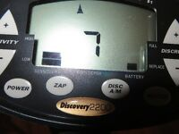 ******   DISCOVERY  2200  METAL  DETECTOR    ******
