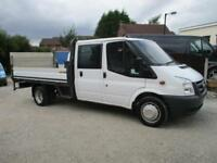 2011/61 Ford Transit 350 LWB Double Cab Dropside with Tail lift