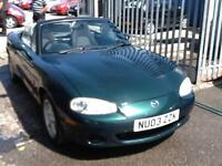 Mazda MX-5 1.6i CONVERTIBLE,HARD TOP INCLUDED,NICE MILES
