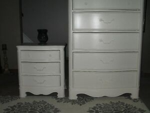BEAUTIFUL DRESSER AND NIGHT TABLE