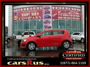 2016 Chevrolet Sonic LT Backup Camera/Alloys