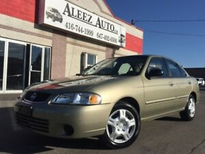 2003 Nissan Sentra XE, ONLY 40,000 km ! certified and e-tested