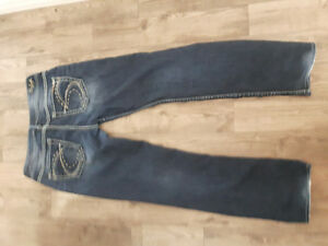 Brand new silver jeans (womans)
