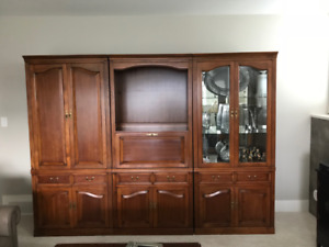 Craftline Solid Maple Wall Unit