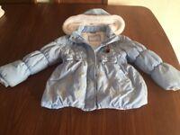 Girls Frozen Coat