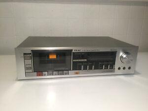 TEAC V-33 cassette deck Made in Japan